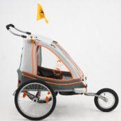 Qeridoo Speedkid2 2017 Kinderfahrradanhanger Und Jogger Test August 2020